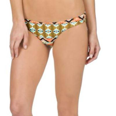 New Volcom Women's Native Drift Reversible Full Bikini Bottom