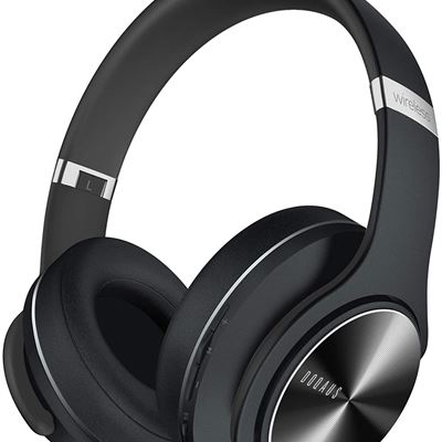 New DOQAUS Bluetooth Headphones, [52 Hrs Playtime] Wireless Headphones with 3 EQ Modes, Hi-Fi Stereo Over Ear Headphones