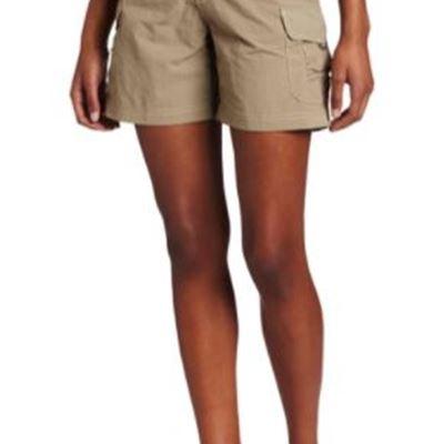 New White Sierra Women's Crystal Cove River Shorts