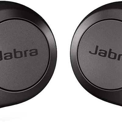 Jabra Elite 85t True Wireless Bluetooth Earbuds, Titanium Black � Advanced Noise-Cancelling Earbuds with Charging Case for Calls & Music