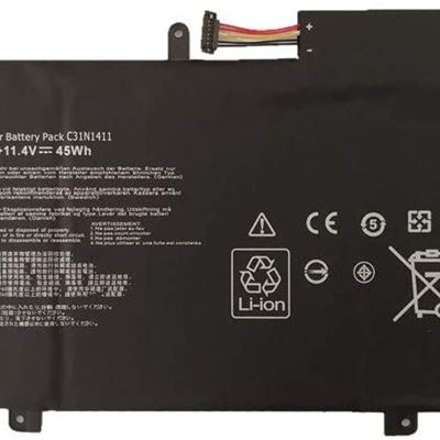 New 7 x Input Tray 11.4V 45Wh 3830mAh Replacement Laptop Battery c31 N1411 for Asus U305 F Series OB200-01180000M