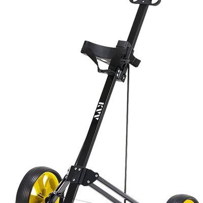 Used KVV 2-Wheel Aluminum Frame Golf Push Cart