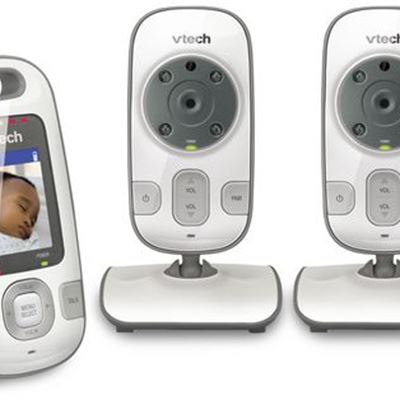 New VTech VM312-1 Safe & Sound Full Color Video And Audio Baby Monitor