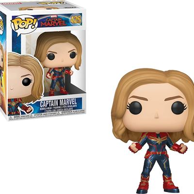 New Funko Pop! Marvel: Captain Marvel (Styles May Vary) Toy, Multicolor, Standard (36341)