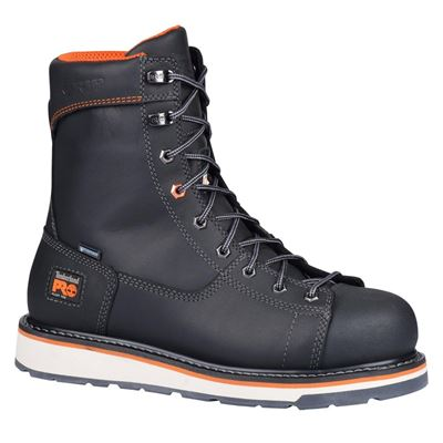 NEW Men's Gridworks Safety Boots, 11, Black