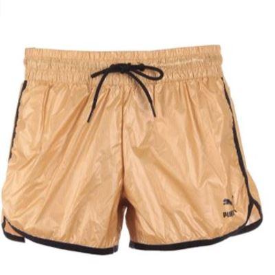New PUMA Women's Gold Shorts