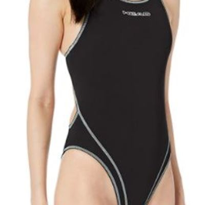 New HEAD Women's Liquid Last Wire Solid Swimsuit