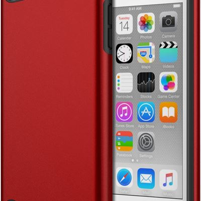 New MoKo Case Fit iPod Touch 2019 Released iPod Touch 7 / iPod Touch 6 / iPod Touch 5, 2 in 1 Shock Absorbing TPU Bumper Ultra Slim Protective Case
