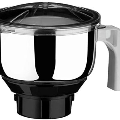 Preethi MG 509 Medium Mixer Jar for Eco Twin, Eco Plus/Chef Pro and Blue Leaf, 1-Liter, Silver