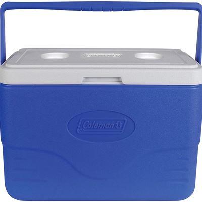 New Coleman 28-Quart Cooler with Bail Handle, Blue