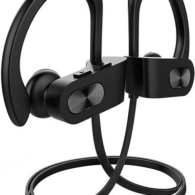 New Bluetooth Headphones V5.0, Flame Running Headphones w/16 Hrs Playtime, Bass+ HD Stereo Wireless Sports Earphones w/IPX7 Waterproof Earbuds