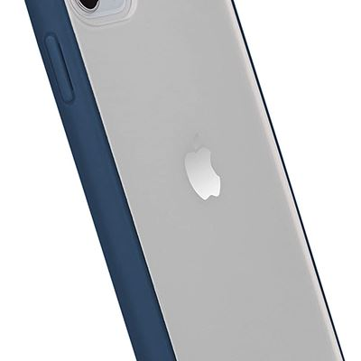 New AmazonBasics iPhone 11 Pro Max case TPE+PC (Navy Blue),Crystal Mobil Phone Case, Protective Case, Anti Scratch