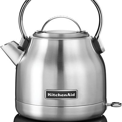 Whirlpool Canada KitchenAid KEK1222SX 1.25-Liter Electric Kettle-Brushed Stainless Steel