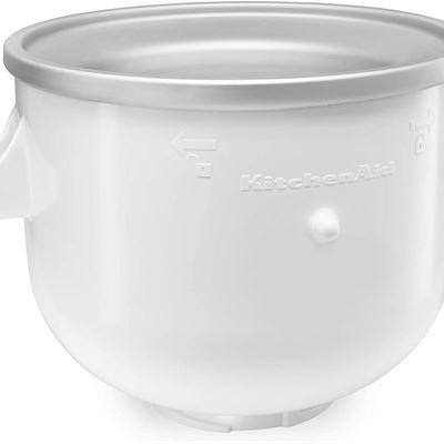 New KitchenAid KICA0WH Ice Cream Maker Attachment, White