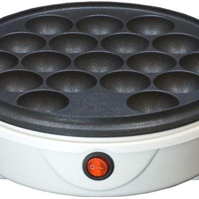 New Electoric Takoyaki Pan Pancake Puffs White NWT-1865A by NEOVE