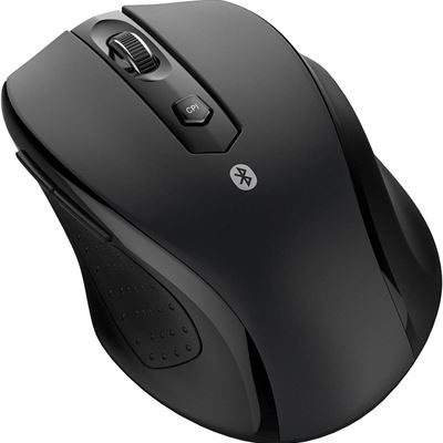 New JETech M0884 Bluetooth Wireless Mouse for PC, Mac, and Android OS Tablet with 6-month Battery Life, Black