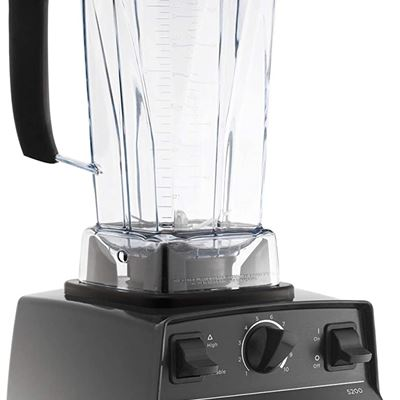 New Vitamix 001372 Blender Professional-Grade Container, Self-Cleaning 64 oz, Black
