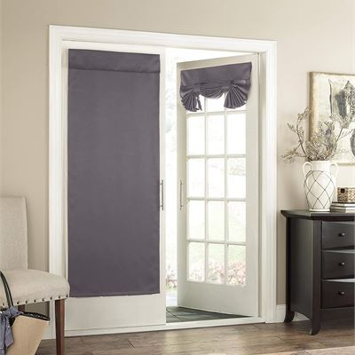 New Eclipse 14898026068GRE Tricia 26-Inch by 68-Inch Thermal Single Door Panel, Grey