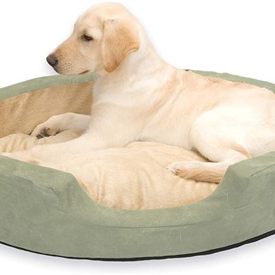 New K & H-Thermo Snuggly Sleeper Dog Bed