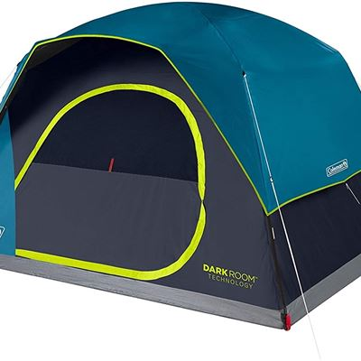 New Coleman Camping Tent | Dark Room Skydome Tent