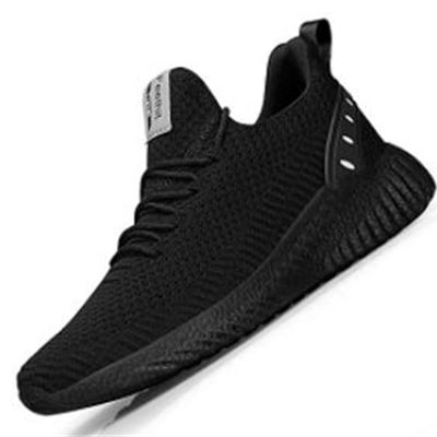 New Feethit Mens Slip On Walking Shoes Blade Non Slip Running Shoes Lightweight Breathable Mesh Fashion Sneakers