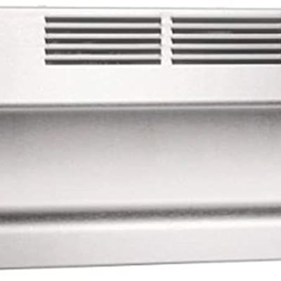 New Broan-NuTone 413004 Non-Ducted Ductless Range Hood with Lights Exhaust Fan for Under Cabinet, 30-Inch, Stainless Steel
