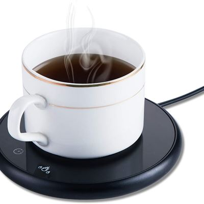 PG Coffee Mug Warmer and Office Warmer, Electric Beverage Warmer with 2 Temperature Settings, Coffee Warmer for Cocoa Milk