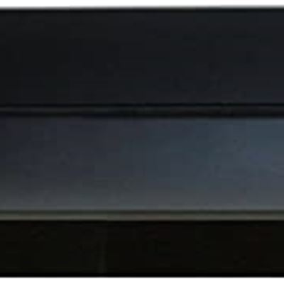 New InPlace Shelving 9084682 Floating Shelf with Picture Ledge, 60Wx4.5Dx3.5H, Black