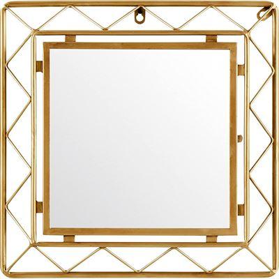 NEW Urban living P165384 Mirror, 41.3 x 5.1 x 41.3 cm, Glass