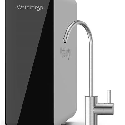 New Waterdrop TSU 0.01?m Ultra-Filtration Under Sink Water Filter System, 3-Stage High Capacity to Remove 99.99% of Contaminants Larger than 0.01?m