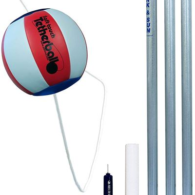 New Park and Sun Classic Tetherball Set - Americana
