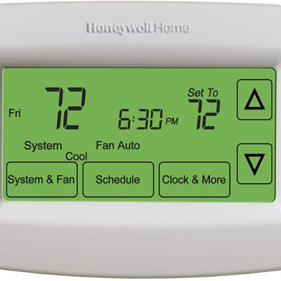 New Honeywell Home RTH7600D 7-Day Programmable Touchscreen Thermostat, small, white, 1-pack