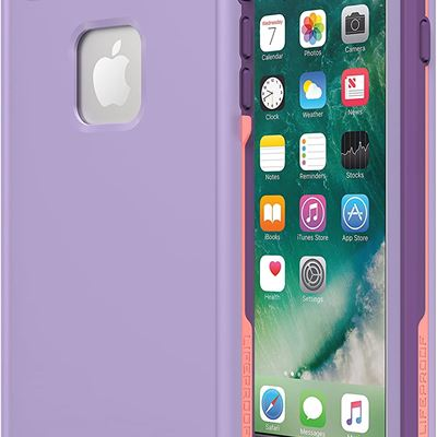 New Otterbox Fr? Series Lifeproof Armored Case for iPhone 7 Plus and 8 Plus, Black / Lime