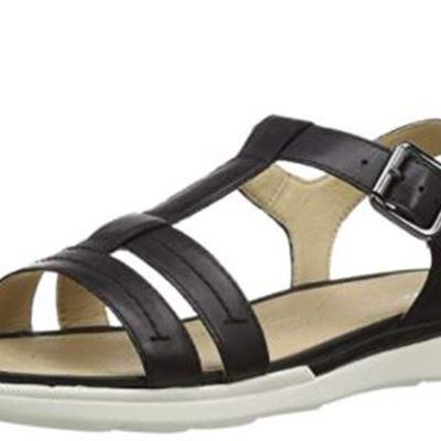 New Geox Women's T-Bar Flat Sandals