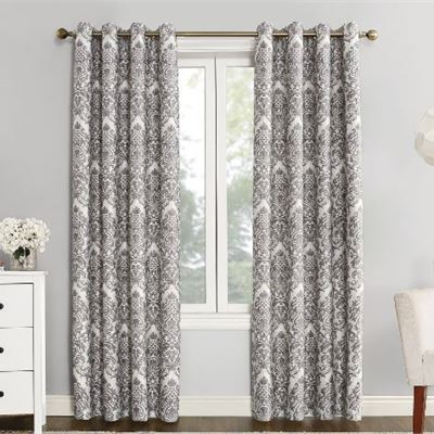 New Sun Zero Catalina Blackout Lined Grommet Curtain Panel