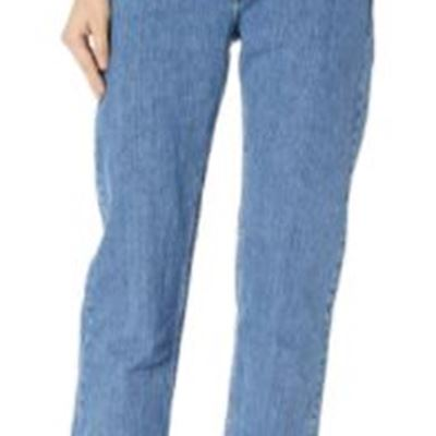 New Riders by Lee Indigo Women's Relaxed-Fit Straight-Leg Jean