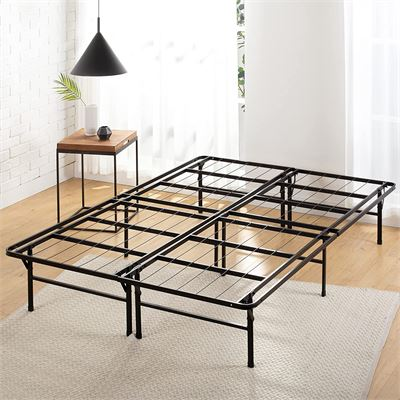 New Zinus 14 Inch SmartBase Deluxe / Mattress Foundation / Platform Bed Frame / Box Spring Replacement, Queen