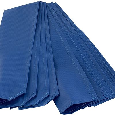 New Upper Bounce Trampoline Pole Sleeve Protector, Blue