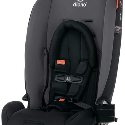 New Diono 2020 Radian 3RX, 3-in-1 Convertible, Infant Insert, 10 Years 1 Car Seat, Fits 3 Across, Slim Fit Design, Gray Slate