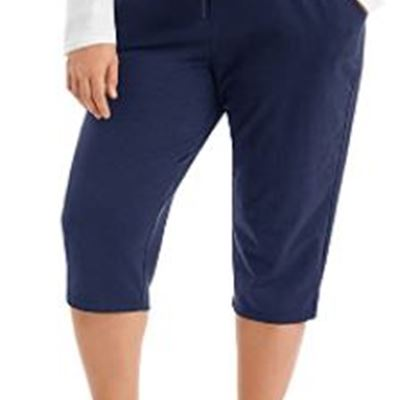 New Just My Size Women's French Terry Capri