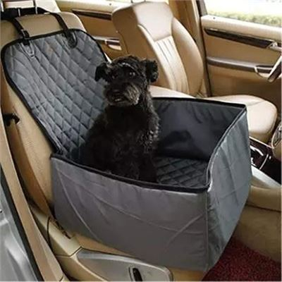New LTLJX Dog Car Front Seat for Small Medium Dogs, Dog Booster Car Seats with Sturdy Sides Waterproof Dog Single Protector Hammock Travel Vehicle