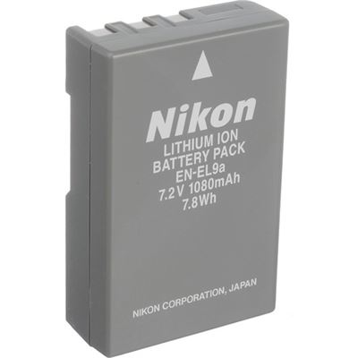 New Nikon EN-EL9a Rechargeable Lithium-Ion Battery