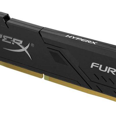 New HyperX Kingston 32GB 3200MHz DDR4 CL16 DIMM Fury Black (HX432C16FB3/32) - 32GB kit (2 x 16GB)