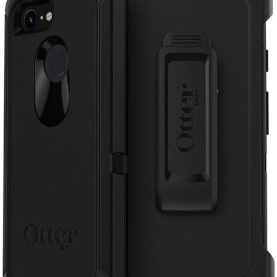 New OtterBox DEFENDER SERIES SCREENLESS EDITION Case for Google Pixel 3 - Retail Packaging - BLACK