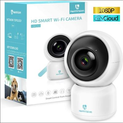 New HeimVision 1080P Security Camera, HM203 UG WiFi Home Indoor Camera with Smart Ni