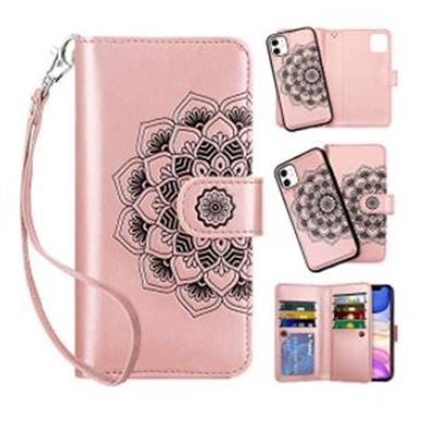 New Vofolen 2-in-1 Case for iPhone 11 Case Wallet Credit Card Holder ID Slot Detachable Hybrid Protective Slim Hard Shell Magnetic PU Leather Folio