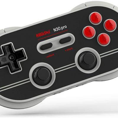 New 8Bitdo N30 Pro2 Bluetooth Gamepad (N Edition) - Nintendo Switch
