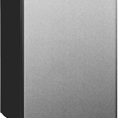 New Equator-Midea REF 87L-24SS 2.4 cu.-Feet Mini Refrigerator in Stainless Steel