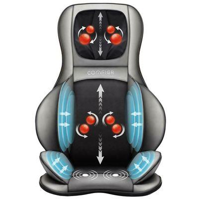 New Comfier Air Compression Shiatsu Neck & Back Massager CF-2309A