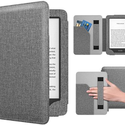 New Dadanism Case Fit All-New Kindle 10th Generation 2019 Release / 8th Generation 2016, PU Leather Ultra Lightweight Slim Protective Smart Cover